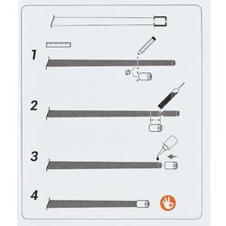 Hülsen Teflon Austrittsdurchmesser 3,7/4,7 mm weiß
