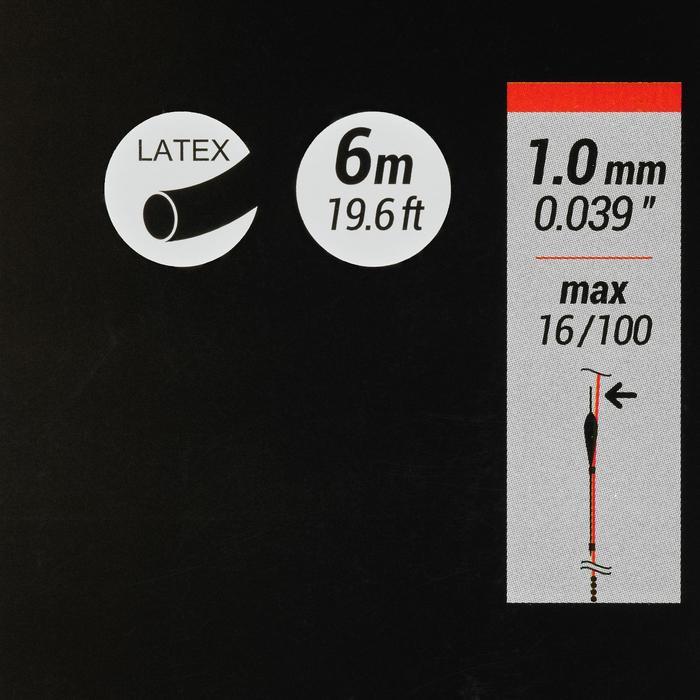 Gummizug Stippfischen PF-PA FE 1 mm 6 m