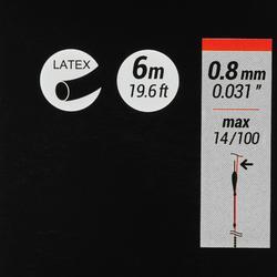 Vollgummi PF-PA FE 0,8mm 6m zum Stippangeln