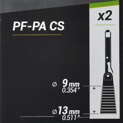 Gummizughalter mit Extraktor Stippangeln PF-PA CS 9/13 mm