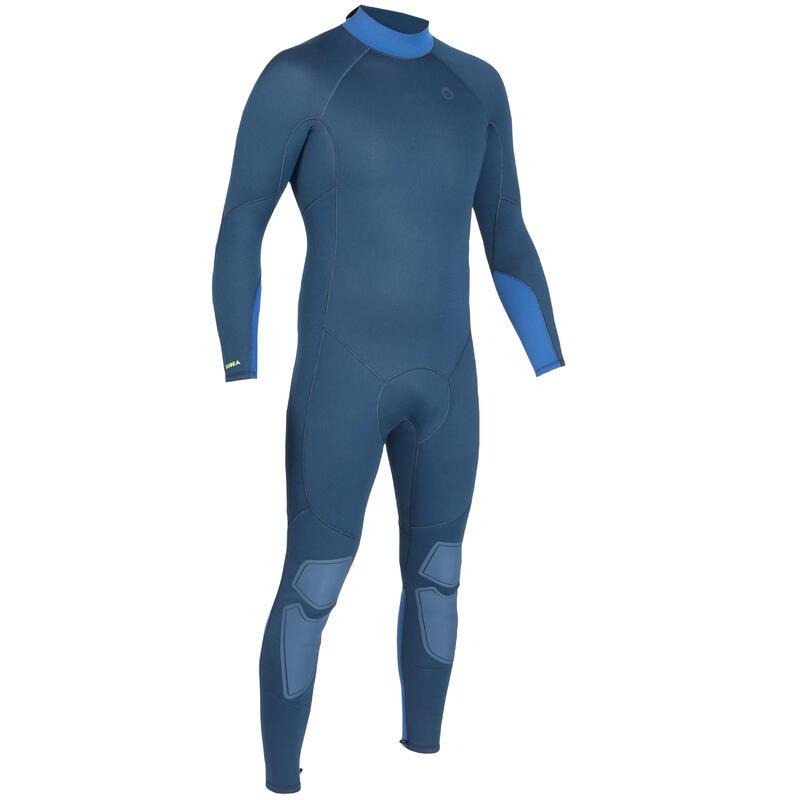 男款3 mm氯丁橡膠(neoprene)水肺潛水防寒衣(背側拉鍊設計)SCD 100