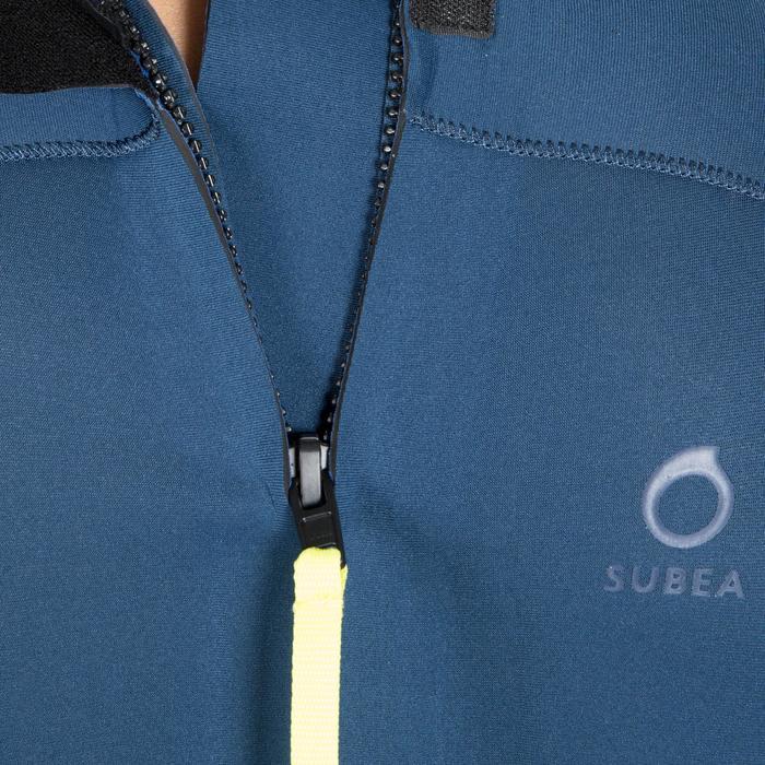 Neoprenanzug Tauchen SCD 100 Neopren 3mm Rückenverschluss Herren