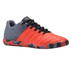 Zapatillas de fútbol sala júnior CLR 500 rojo
