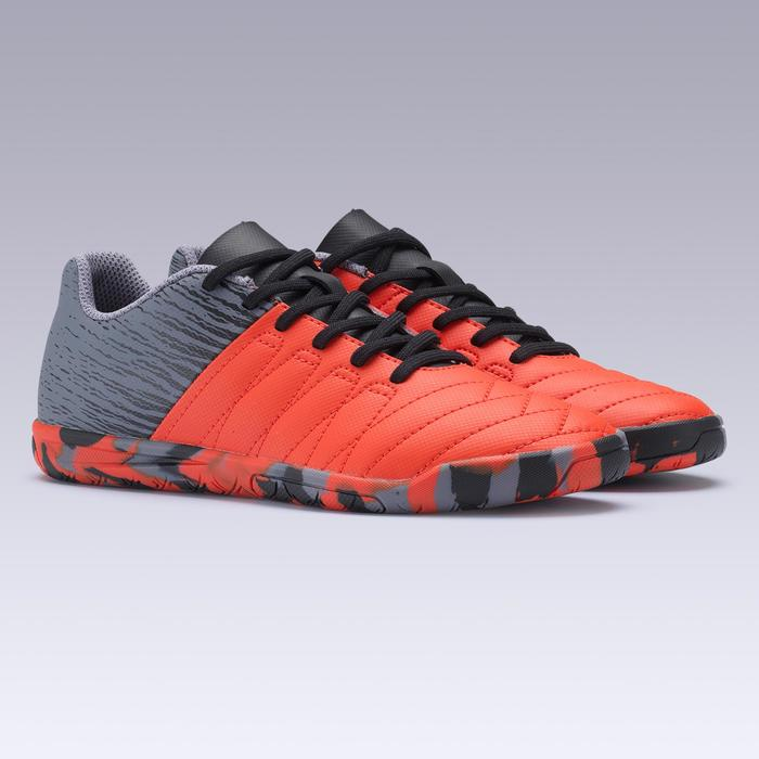 11c4b59ae6db8 Zapatillas de fútbol sala júnior CLR 500 rojo Kipsta