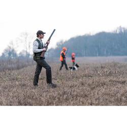 Gilet chasse léger 100 vert