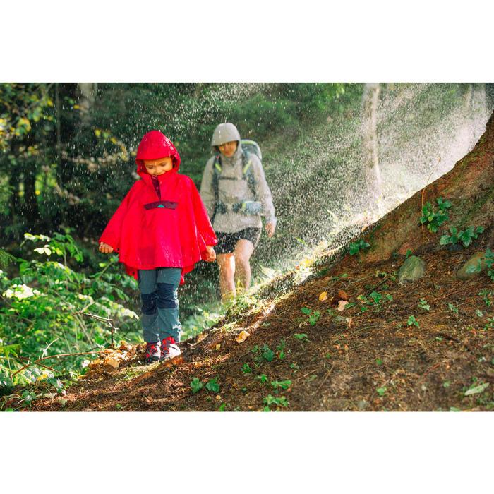 Wanderschuhe Crossrock wasserdicht Klett Kleinkinder Gr. 28-34 lila