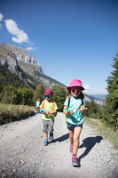 Wanderschuhe CROSSROCK mit Klettverschluss Kinder Mädchen Gr. 24-34 türkis