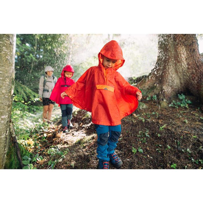 Pantalon de randonnée modulable enfant MH550 KID gris