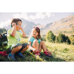 Wandelshirt kinderen MH100 groen