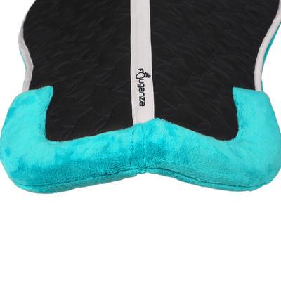 Підкладка під сідло Lena для коней/поні, з піноматеріалу й флісу - Бірюзова