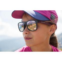 Lunettes de soleil randonnée enfant 11-14 ans MH T140 violettes cat3
