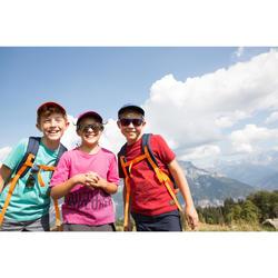 Lunettes de soleil randonnée enfant 11-14 ans MH T140 bleues/vertes cat3