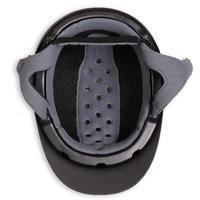 520 Horse Riding Helmet - Matte Black