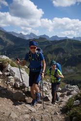 CrossrockSepatu Hiking Gunung Anak Laki-Laki - Biru