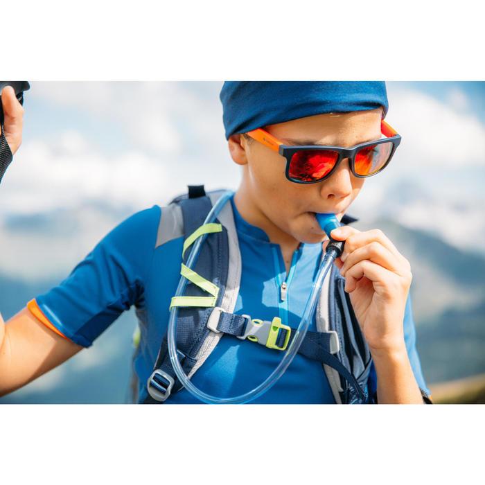 Kids' Cat 3 Hiking Sunglasses 11-14 Years MH T140 - Blue/Orange