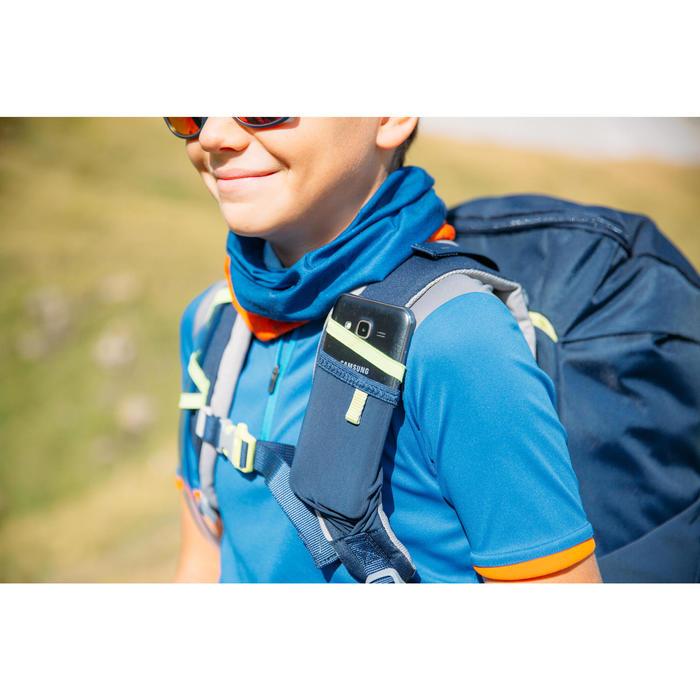Mochila Senderismo Montaña Quechua 18L MH500 Niño Azul