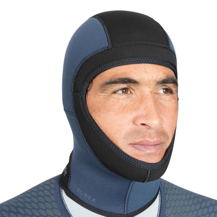 Combinaison de plongée semi-étanche neoprene SCD500 Homme 7mm pour eau froide