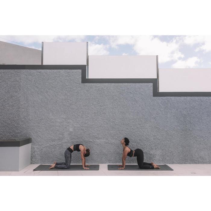 Yogamat Studio dynamische yoga 5 mm grijs