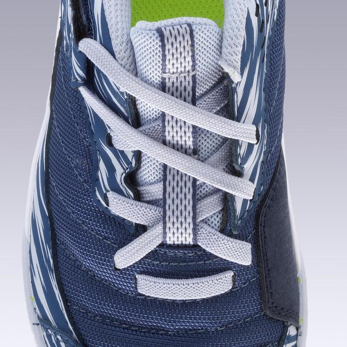 Zapatillas de Fútbol Sala Kipsta Eskudo 500 niños azul gris