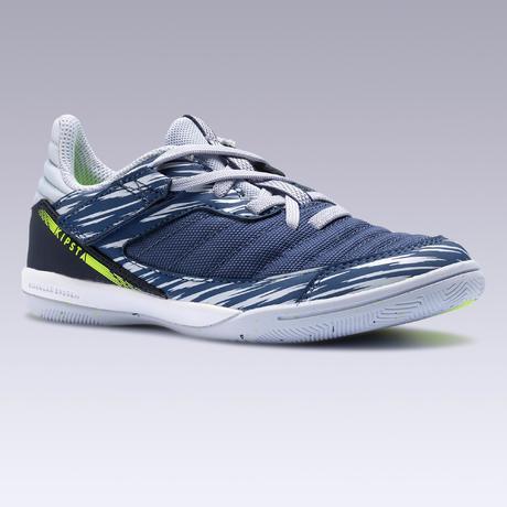 check out b27de ff8dd Chaussures de Futsal ESKUDO 500 KD Bleu Gris. Previous. Next