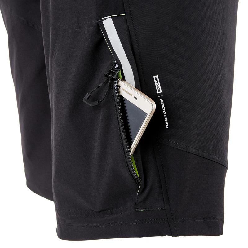 ST 500 Padded Mountain Bike Shorts - Black