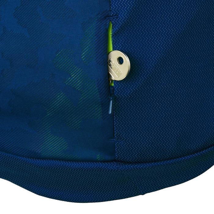 MTB-shirt met korte mouwen ST 500 blauw en geel voor heren