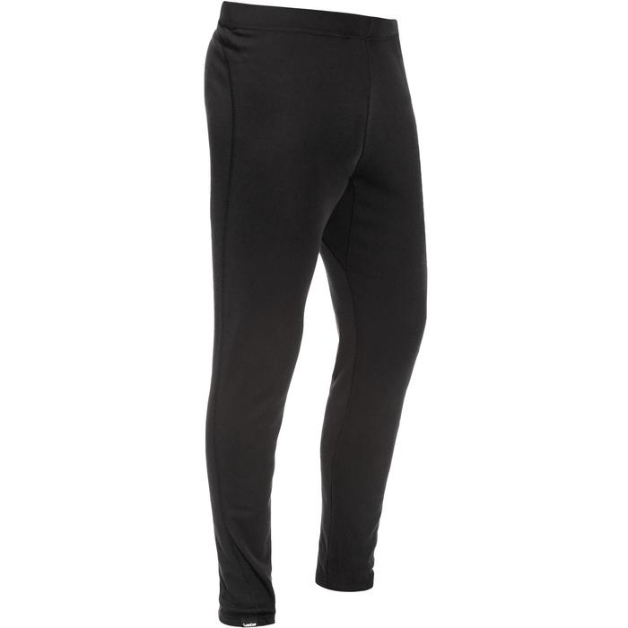 Men's Skiing Base Layer Bottoms Simple-Warm - black