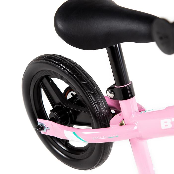 """10""""兒童平衡車Run Ride 500 - 白色/粉色"""