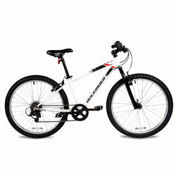 "24"" ST 100 Kid MTB - White"