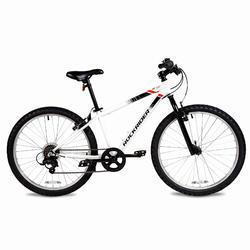 "24"" ST 100 Kid Mountain Bike - White"