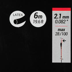 Vol latex elastiek 2,1 mm 6 m