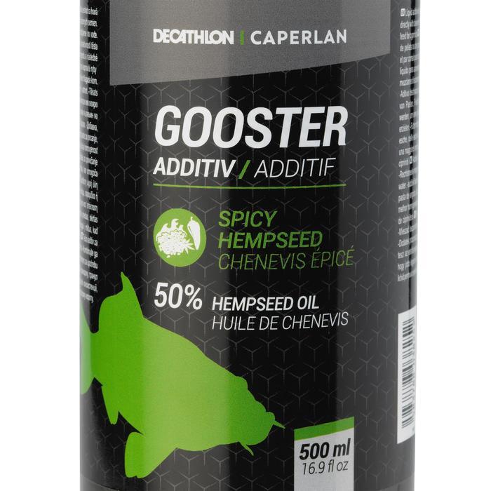 Lockstoff flüssig Stippangeln Gooster Additiv Hanfsamen 500 ml