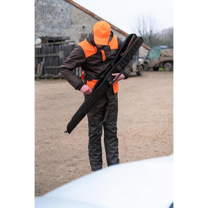 Fourreau chasse fusil 125 cm marron