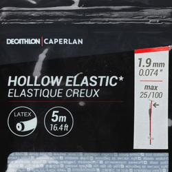 Hol elastiek in latex 1,9 mm 5 m PF-PA HE