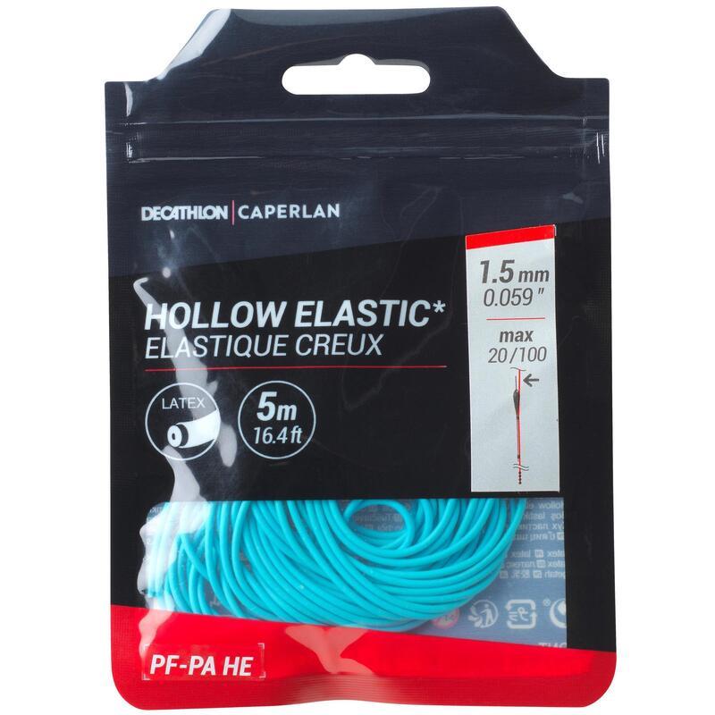 HOLLOW LATEX ELASTIC 1.5mm 5M PF-PA HE