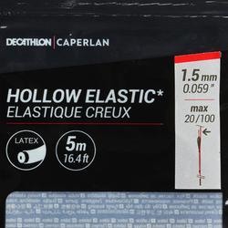 ELASTIQUE CREUX EN LATEX 1,5mm 5M PF-PA HE