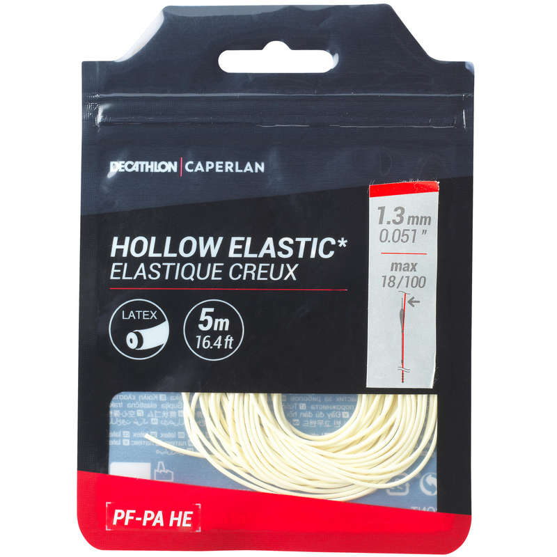 TOGETHER POLES Fishing - ELASTIC PF-PA FE 1.3mm 5m CAPERLAN - Coarse and Match Fishing