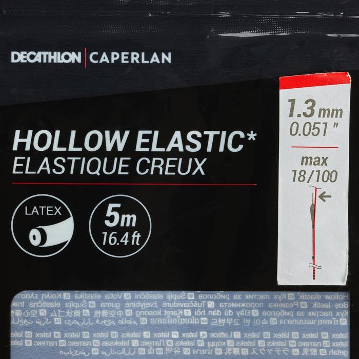 ELÁSTICO HUECO DE LÁTEX PF-PA HE 1,3 mm 5 m