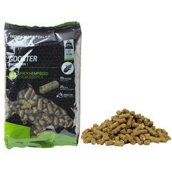 Gooster pellets 8 mm 0,7 kg hennepzaad voor statisch karperhengelen