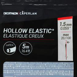 Hol elastiek 2,1 mm 5 m karpervissen