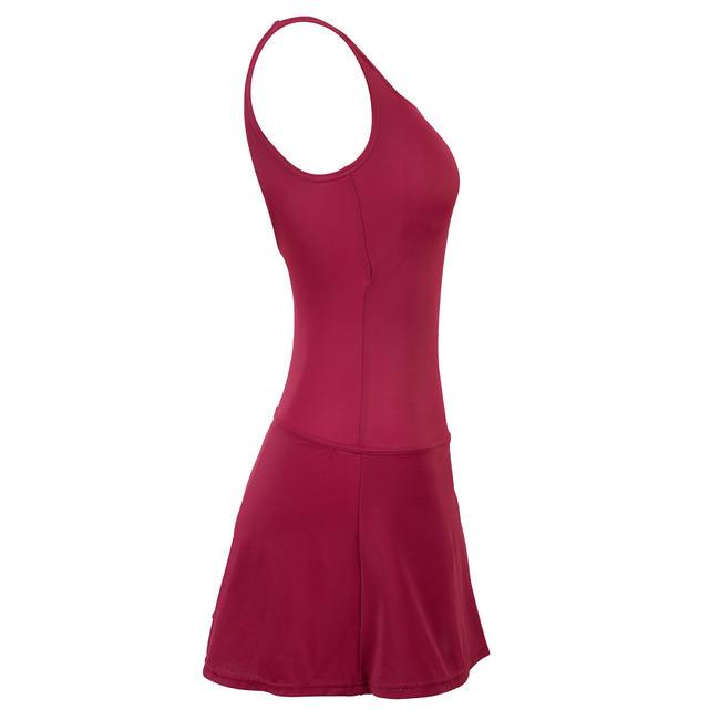 Women Swimming Costume with Skirt Heva - Darl Mulberry