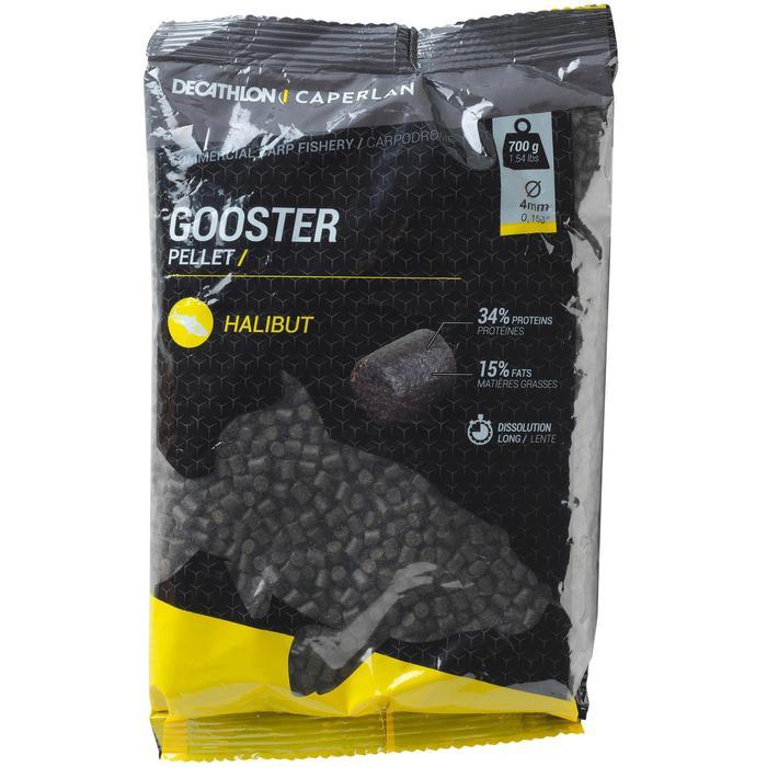 Gooster pellets heilbot 4 mm 0,7 kg voor statisch hengelen op karpers