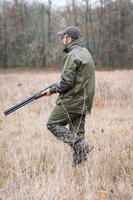 HUNTING PANTS 500 WATERPROOF - GREEN