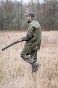 OBLEČENÍ DO DEŠTĚ Myslivost a lovectví - KALHOTY NEPROMOKAVÉ 500 ZELENÉ SOLOGNAC - Myslivecké oblečení