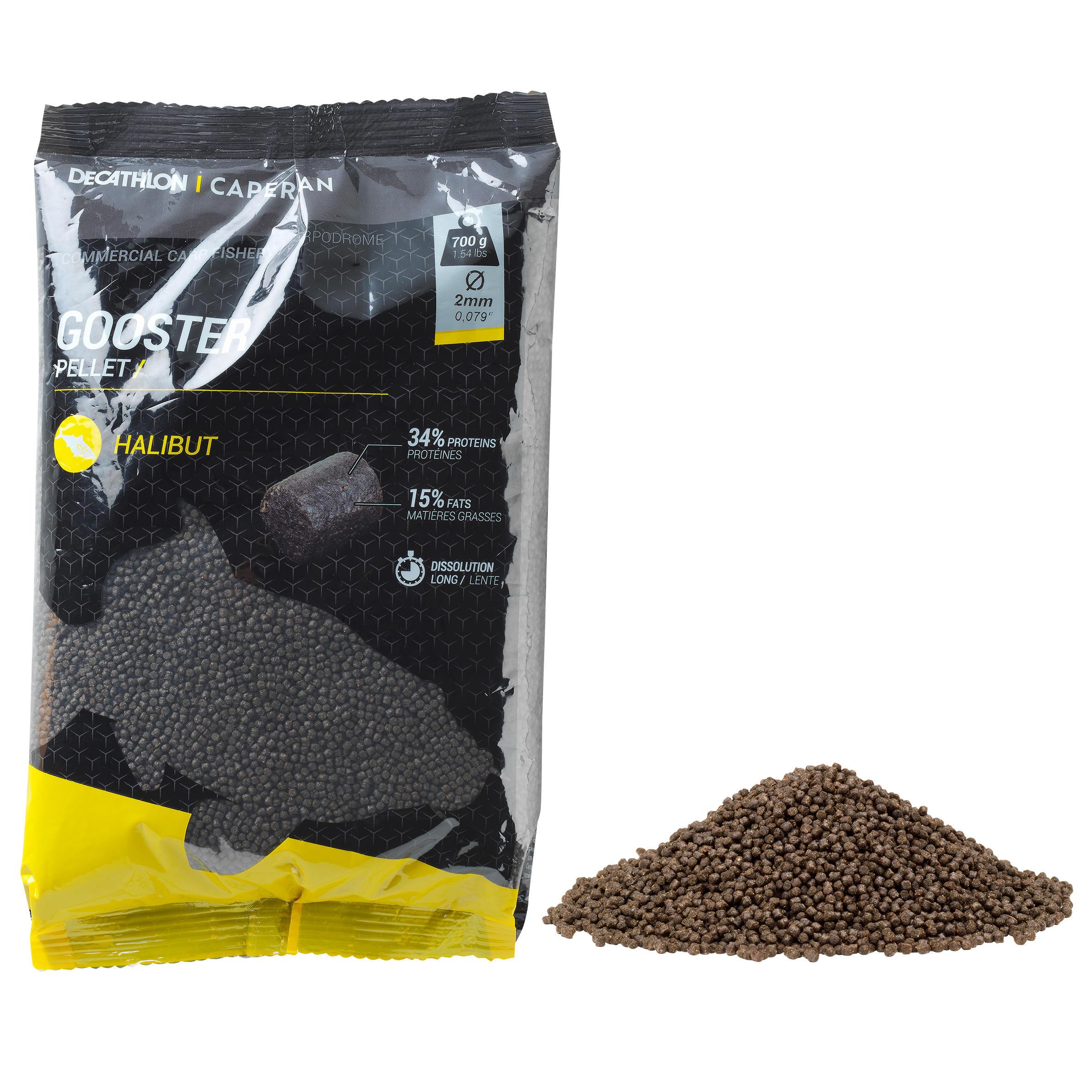 Caperlan Gooster pellets heilbot 8 mm 0,7 kg voor statisch hengelen op karpers
