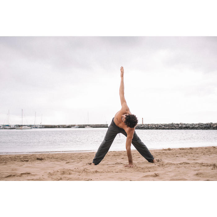 Men's Gentle Yoga Bottoms Grey