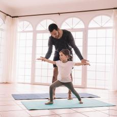 sporten met kinderen