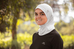 RUNNING HIJAB - WHITE
