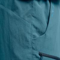 Short de senderismo montaña MH100 hombre azul claro