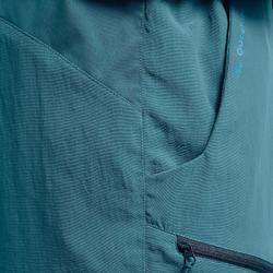 Pantalón Corto de Montaña y Trekking Quechua MH100 Hombre Azul